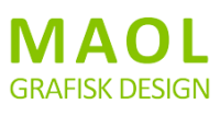 MAOL Grafisk Design Logo
